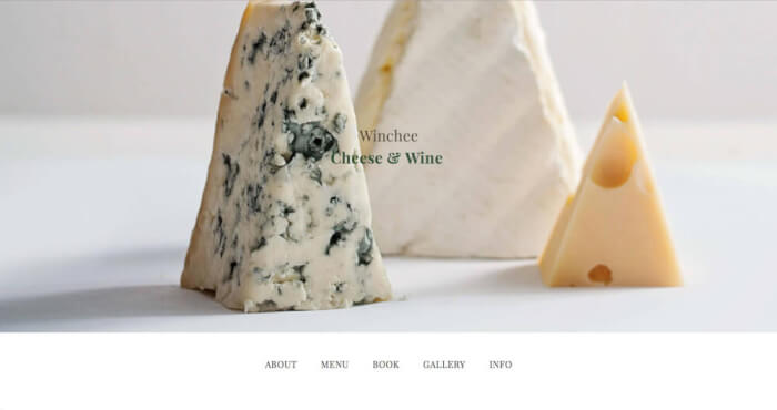 As a good wine needs some good cheese, so a good restaurant needs a good website.